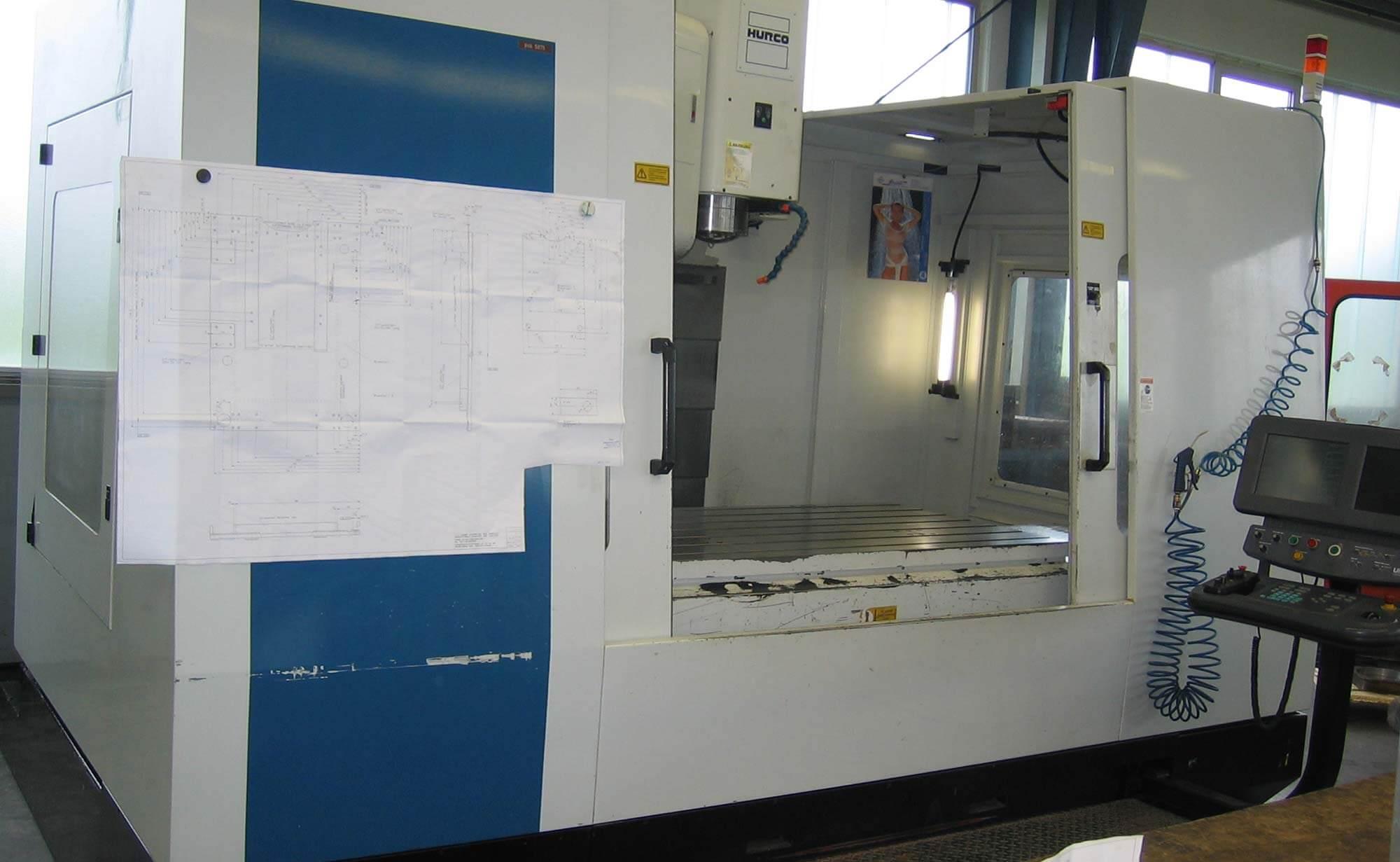 Hurco BMC 64M 3-Achs-Bearbeitungszentrum